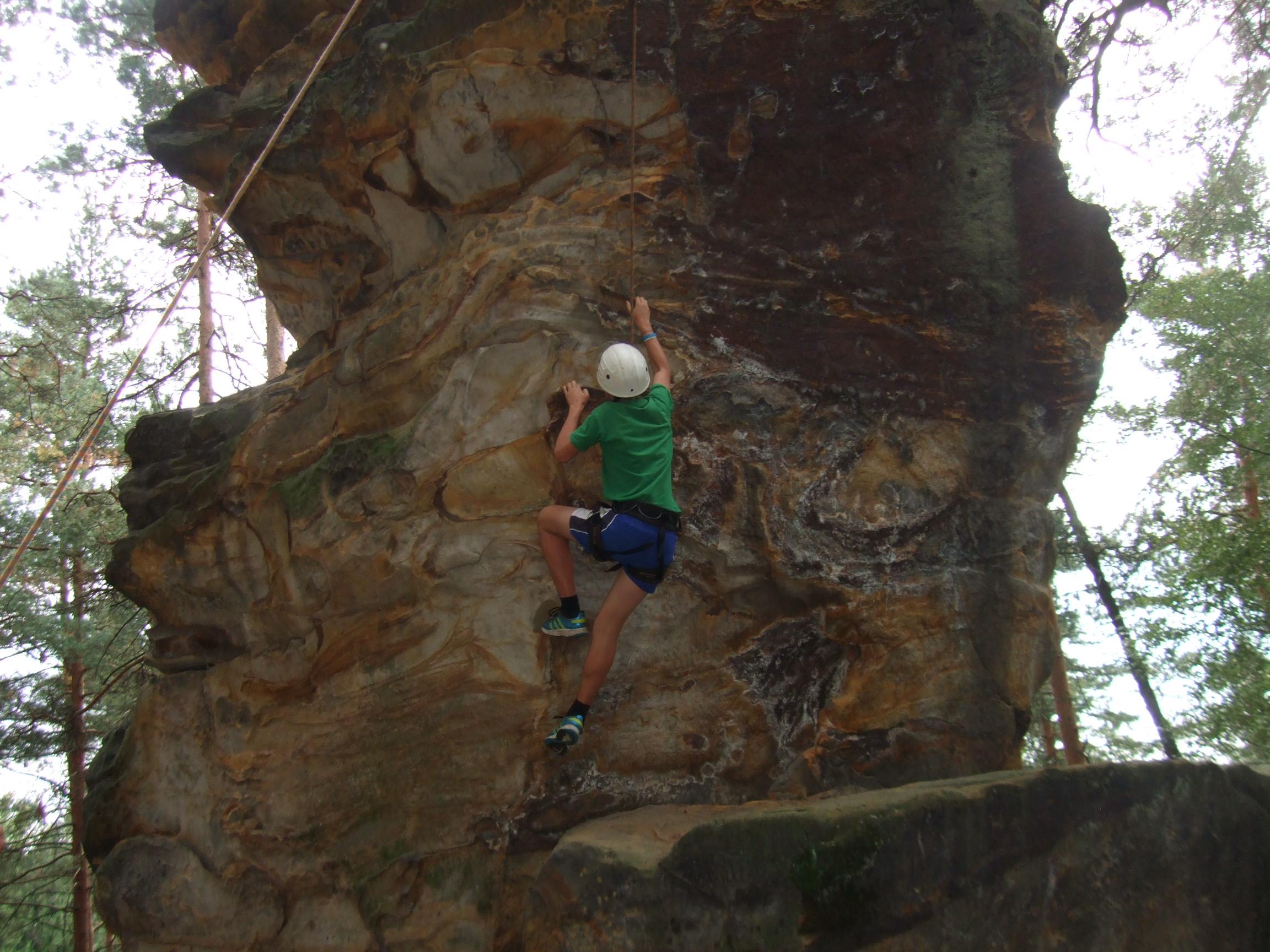 adrenalinový program - lezení